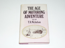 Age of Motoring Adventure : The (Nicholson 1972)